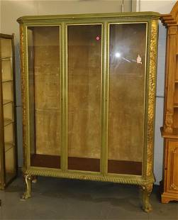 Art Deco Painted and Gilt Trimmed Cabinet