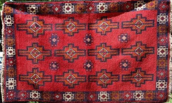 9: Handmade Tribal Rug