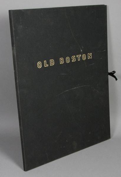 "6: Portfolio of Seven (7) 20th C. Prints ""Old Boston"""