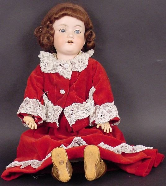 21: Armand Marseille Bisque-Head Doll