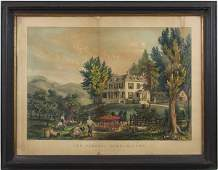 9185: Currier & Ives Lithograph
