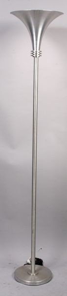9006: Mid 20th C. Torchiere Floor Lamp