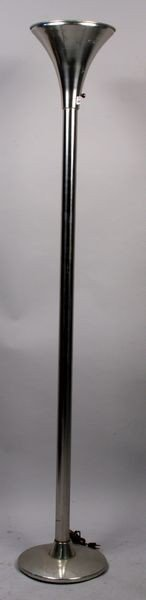 9007: Mid 20th C. Torchiere Floor Lamp