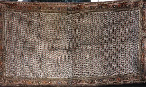 9008: Antique Persian Oriental Rug