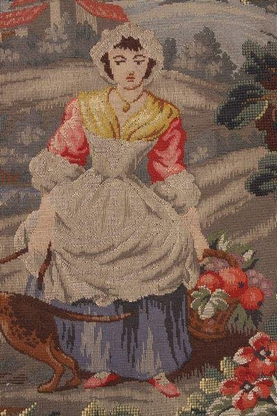 9023: 20th C. Woven Tapestry - 2