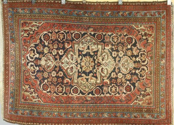 1023: Antique Persian Hamadan Rug