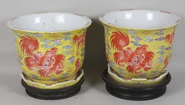 2015: Two (2) Chinese Porcelain Urns