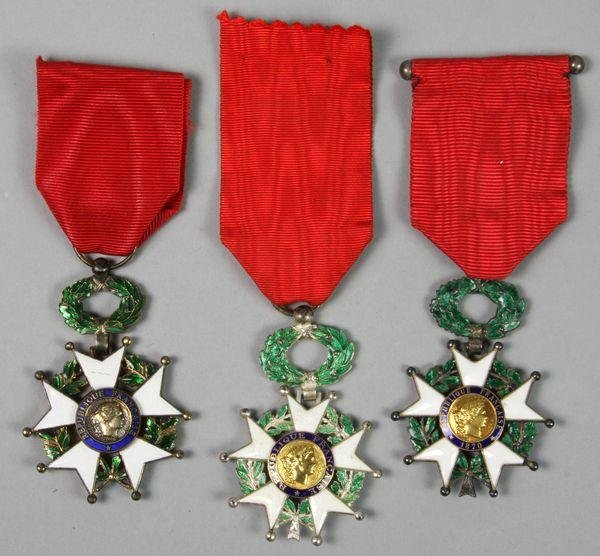 3005: Three (3) Legion of Honor Medals