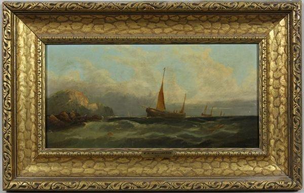 3013: William H. Williamson, Coastal View, O/C