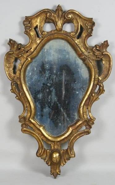 4009: 19th C. Venetian Mirror