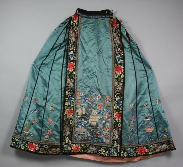 4018: Chinese Silk Skirt