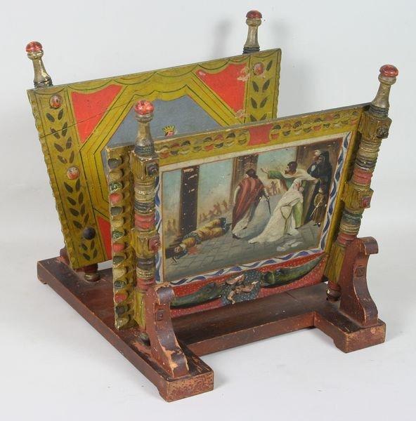 4021: 19th C. Sicilian Book Stand
