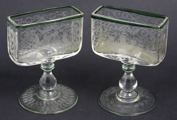 4003: Pair of Bohemian Candle Holders