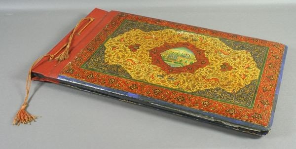 5001A: Late 19th C. Persian Style Photo Album