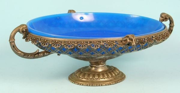 5012: 19th C. Silver Plated Center Bowl