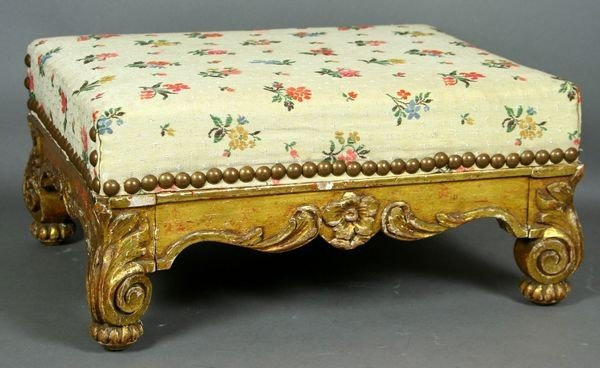 5020: 19th C. French Louis XVI Style Gilt Wood Upholste