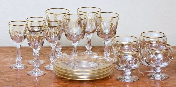 6002: Early 20th C. French set of Sixteen (16) Pieces o