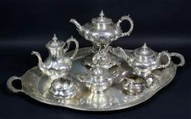 8122: Gorham Sterling Silver Tea and Coffee Set