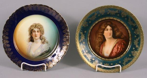 8008: 19th C. Austrian Porcelain Plates