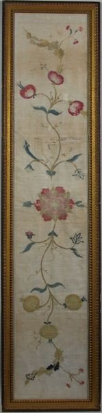 8003: 18th/Early 19th C. Framed Textile Fragment