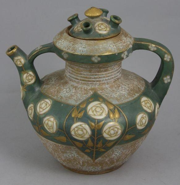 8006: Art Nouveau Teplitz Teapot