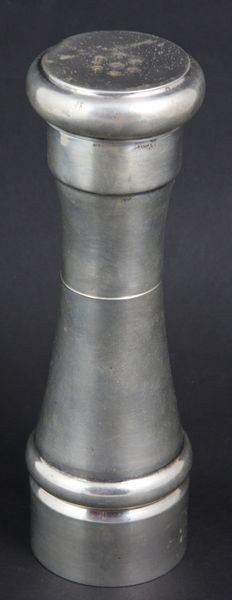 9012: Tall Italian Sterling Silver Pepper Mill
