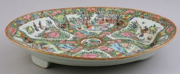 9016: Chinese Rose Medallion Platter