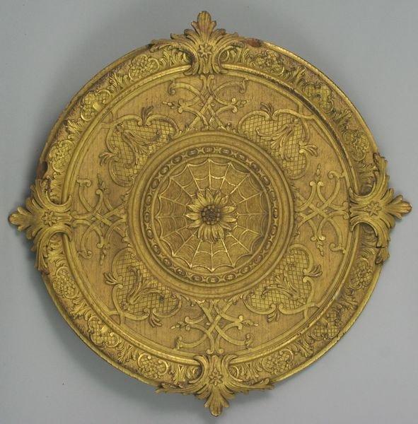 9018: 19th C. French Gilt Wood Plaque