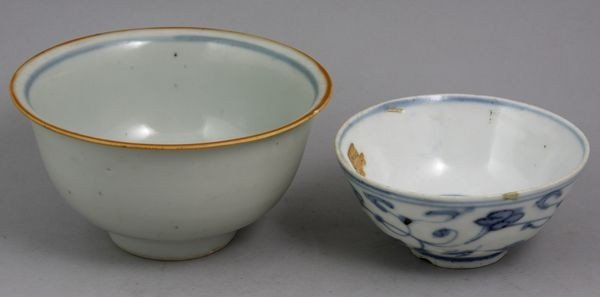 9003: Two (2) Chinese Porcelain Bowls