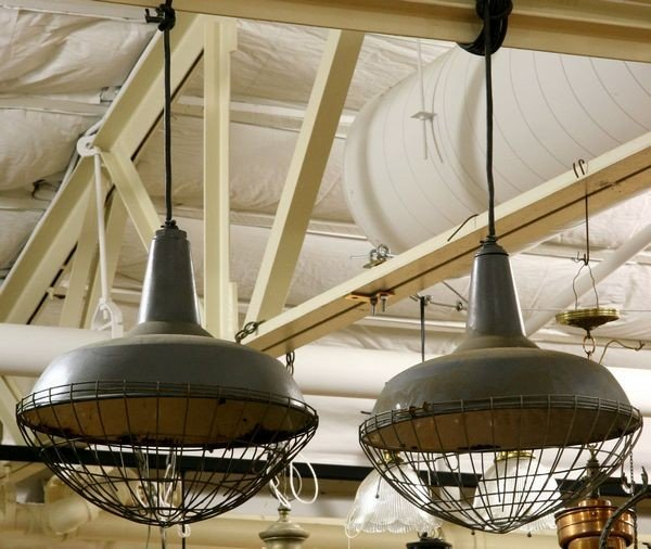 3: Pair of Utility Lamps