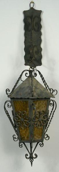 1008: Large Exterior Hanging Lantern