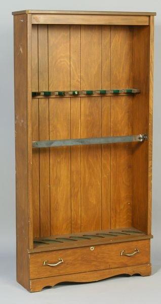 1024: Mahogany Gun Cabinet