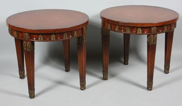 1026: Pair of 20th C. Tables