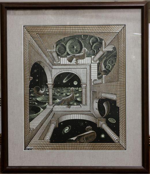 4004: M.C. Escher Lithograph
