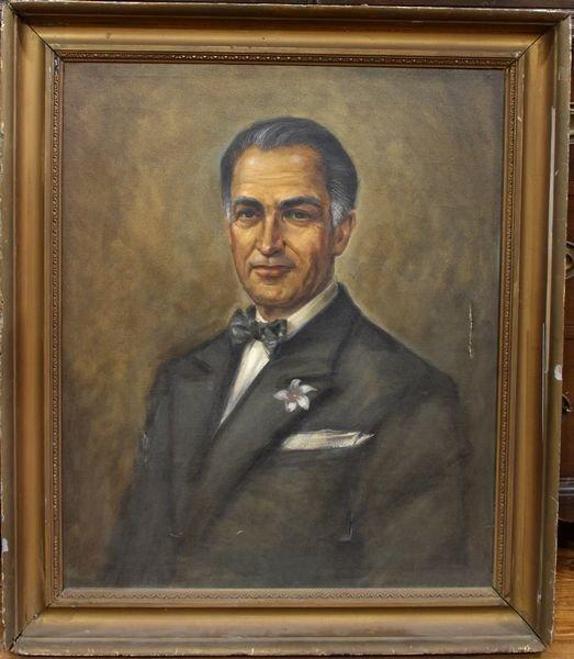 4013: Portrait Of A Gentleman, O/C