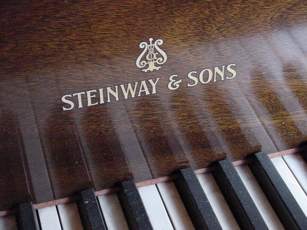 21: STEINWAY MAHOGANY GRAND PIANO C1931