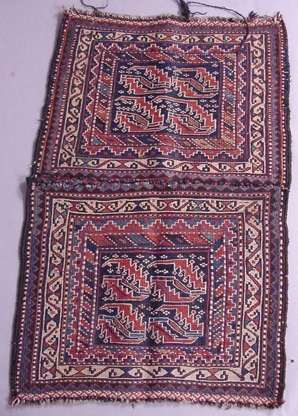 34A: 19TH CENTURY PERSIAN SADDLEBAG