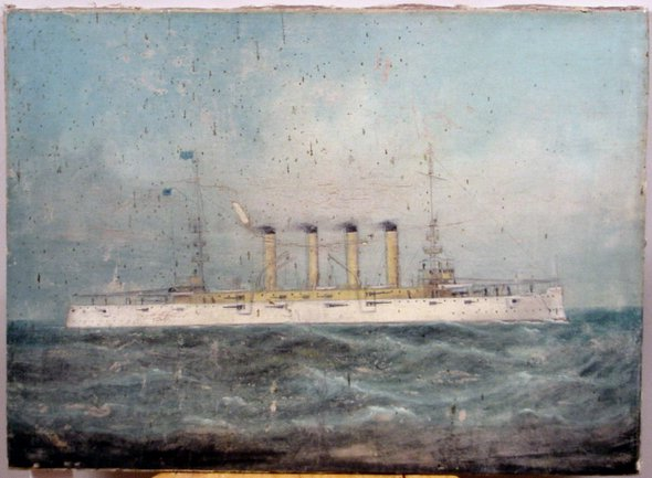 1017: EARLY 20TH CENTURY OIL ON CANVAS