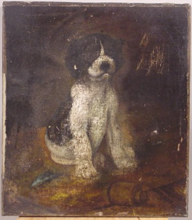 1023: LATE19TH/EARLY 20TH CENTURY OIL ON CANVAS