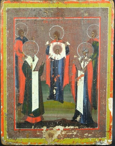 2007: 19th C. Russian Icon, Oil on Wood Panel