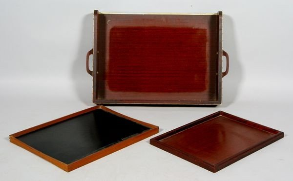 2012: 20th C. Butler's Tray and Stand with Two Trays
