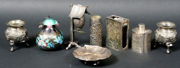 3087: Asian Silver Items