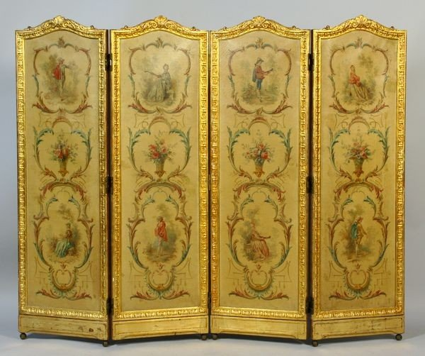 3164: Early-to-Mid 19th C. French Dressing Screen