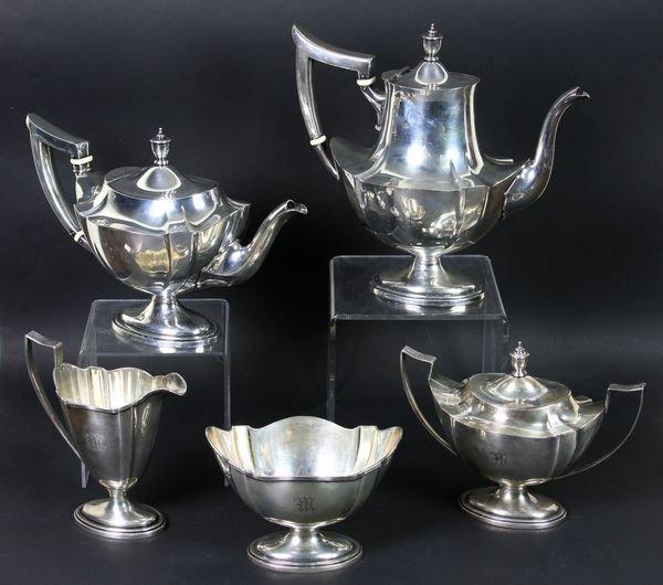 Gorham Sterling Tea Service
