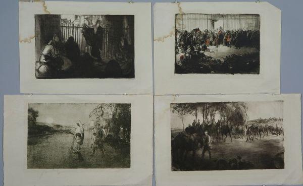 Four Original Prints
