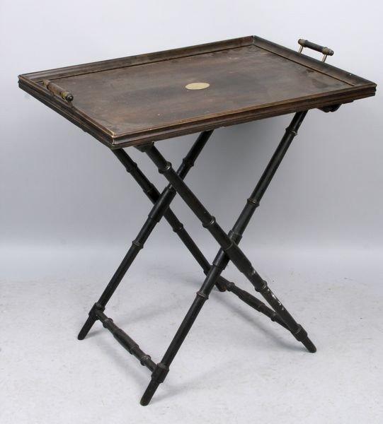 5007: Butler's Tray Table having Bamboo Legs