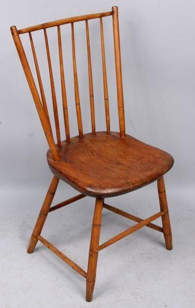 5024: 19th C. American Windsor Side Chair