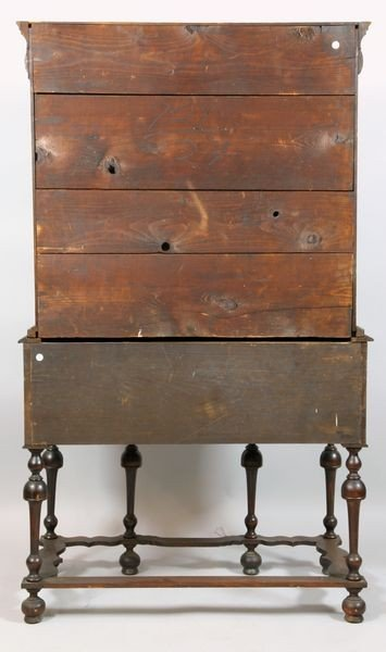 5105: Antique William and Mary Highboy - 3
