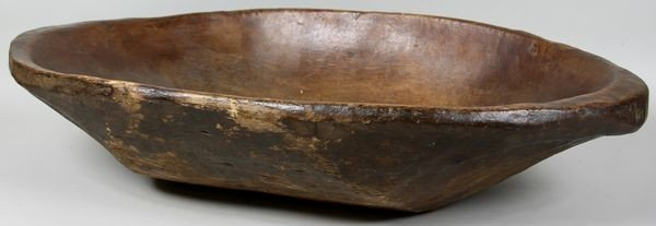 """5013: Early Wood Bowl, 19"""" x 32"""""""
