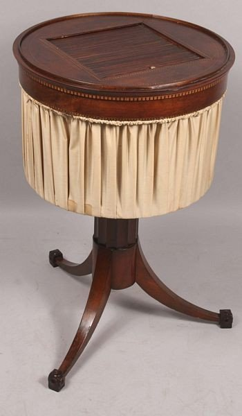 5018: 19th C. English Regency Sewing Table